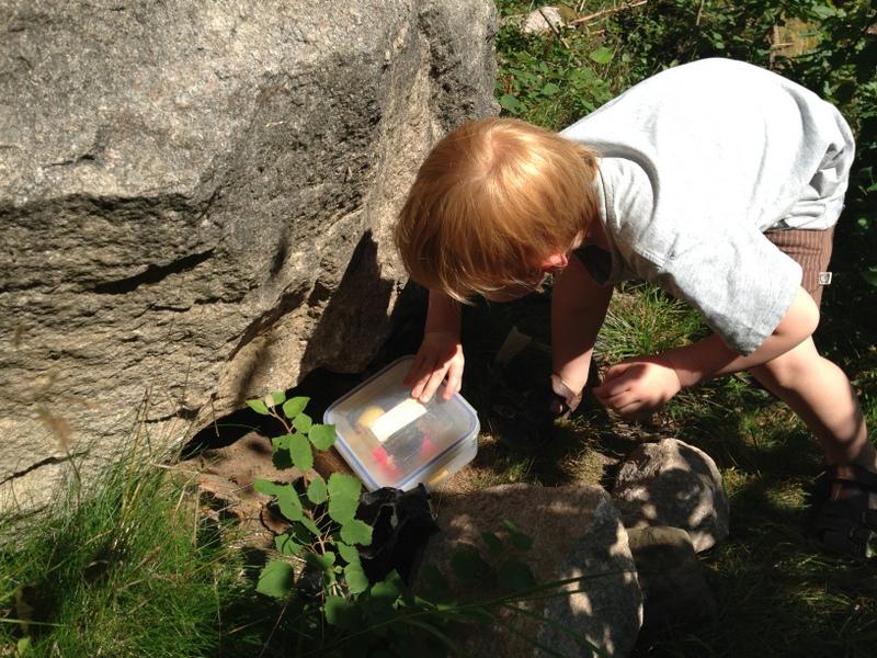 Geocatching – på mobil skattejagt i svenske skove