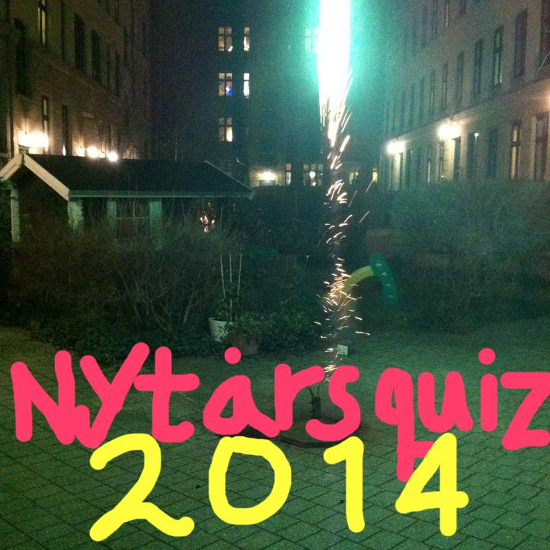 Nytårsquiz 2014 – lige til at printe ud
